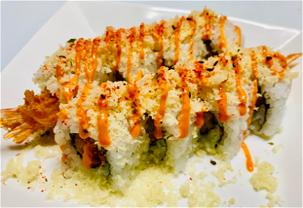 Foto Spicy Crunchy roll
